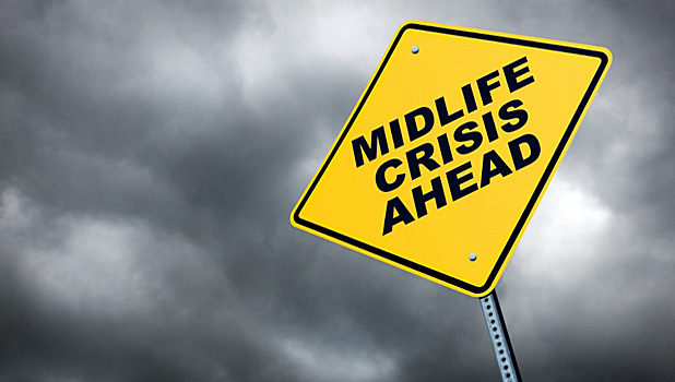 Why do men go through midlife crises?