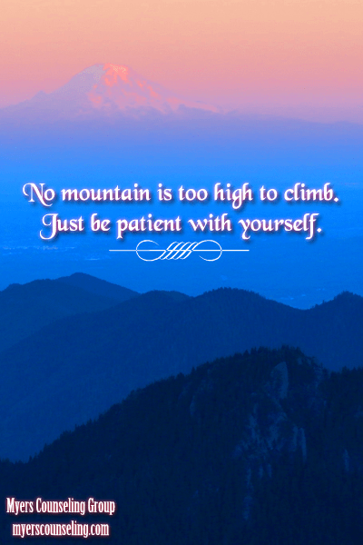 Inspirational Quote of the Day: No Mountain is Too High