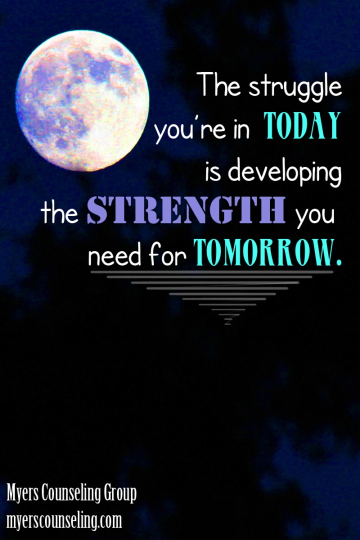 Inspirational Quote of the Day: Strength for Tomorrow