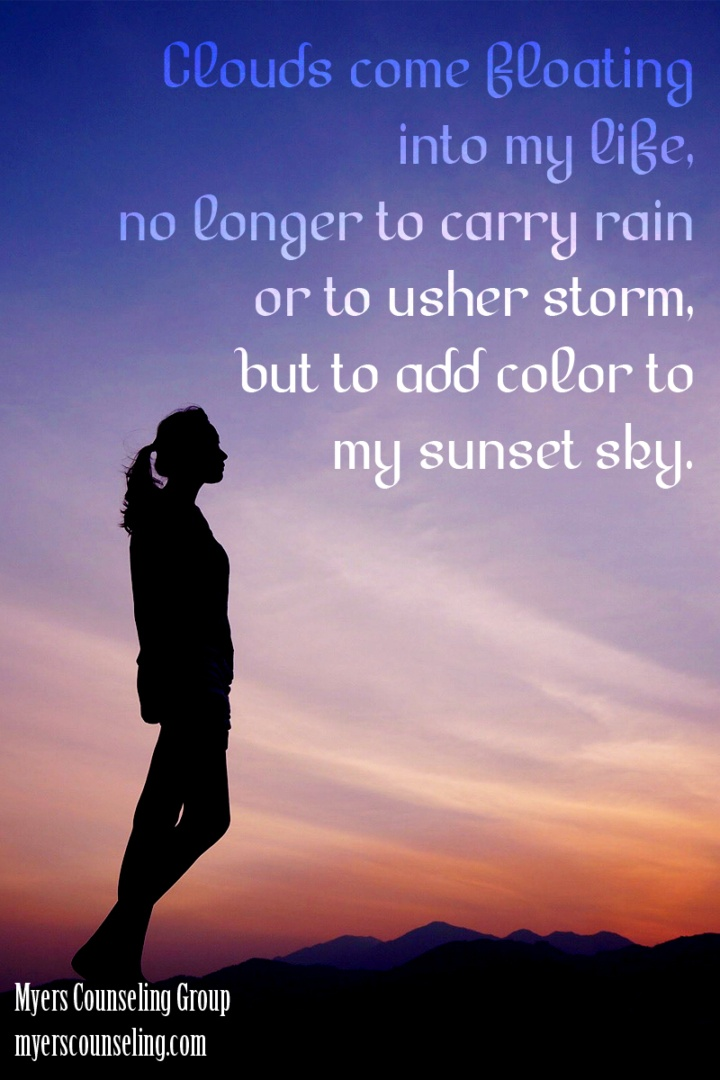Inspirational Quote of the Day: Sunset Sky