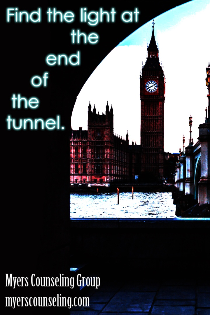 Inspirational Quote of the Day: Tunnel