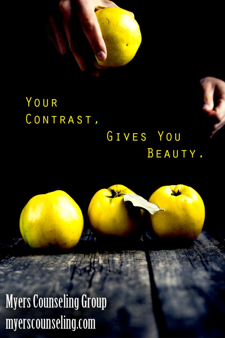 Inspirational Quote of the Day: Contrast