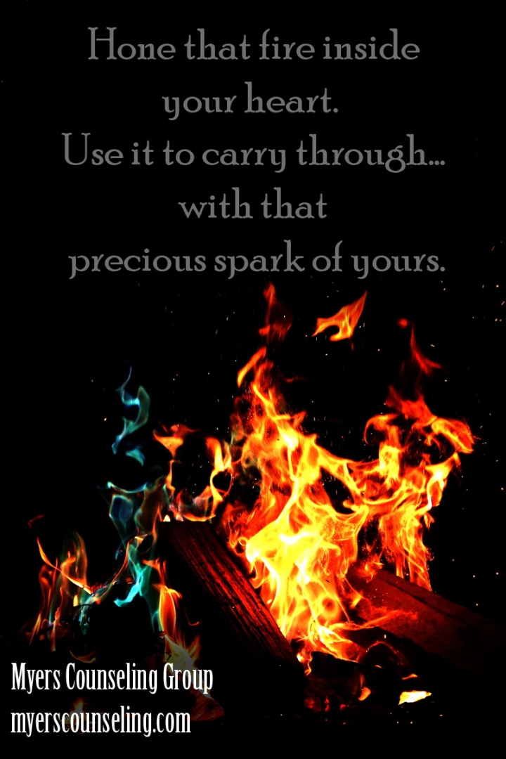 Inspirational Quote of the Day: Fire