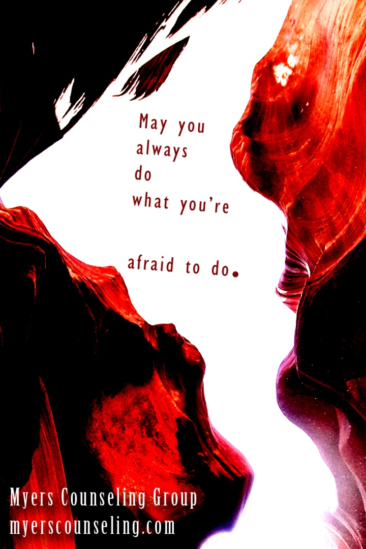 Inspirational Quote of the Day: Afraid