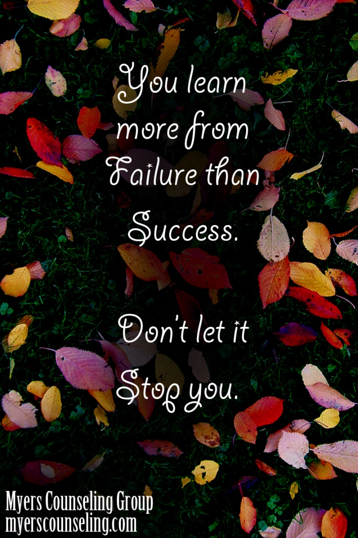Inspirational Quote of the Day: Failure