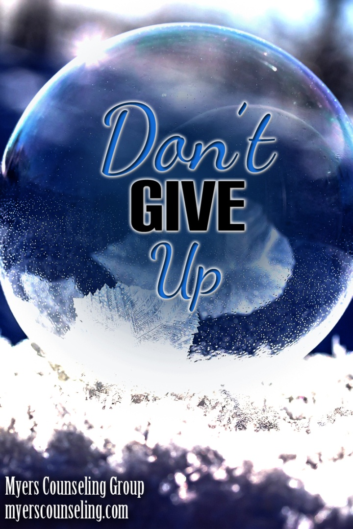 Inspirational Quote of the Day: Don't Give Up