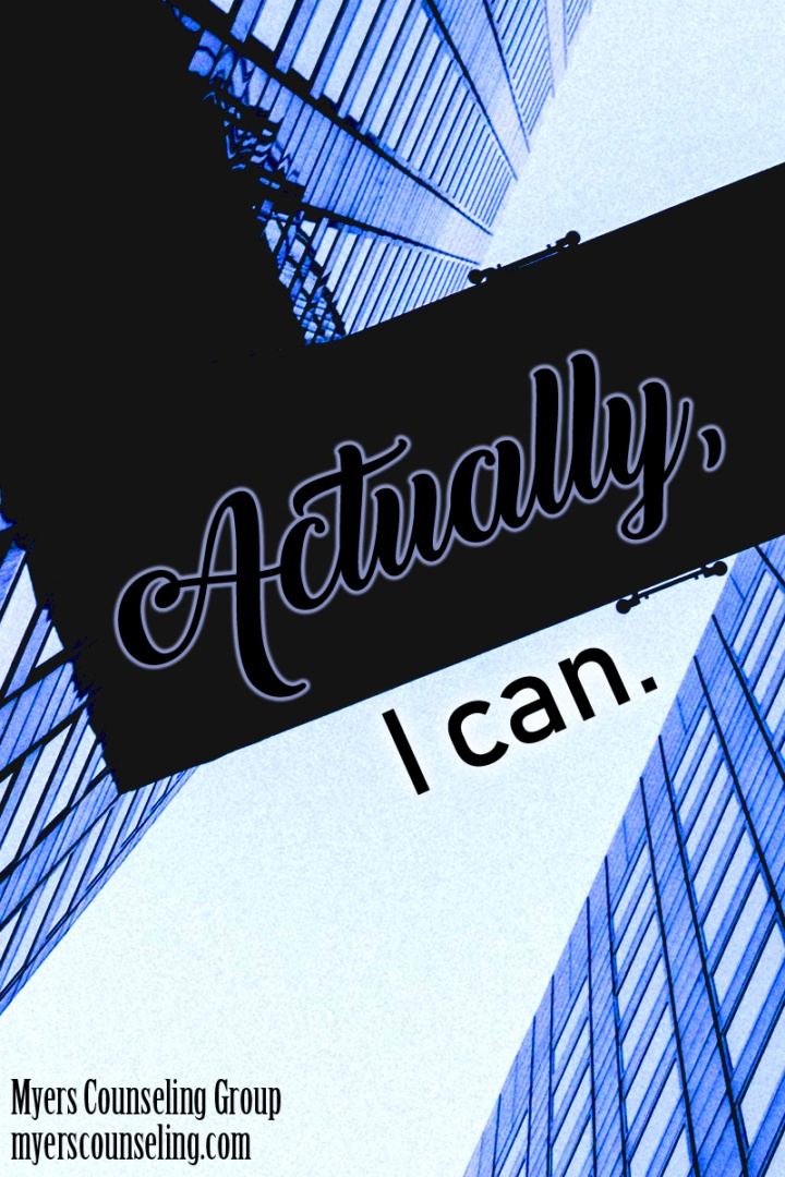 Inspirational Quote of the Day: I Can