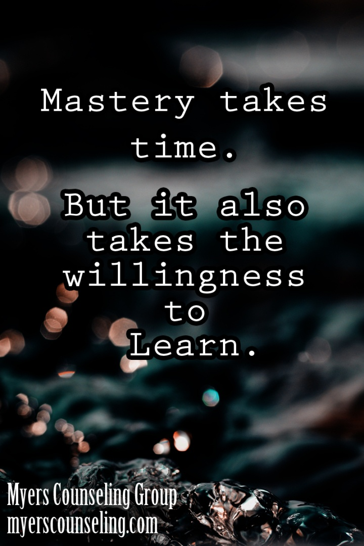 Inspirational Quote of the Day: Mastery