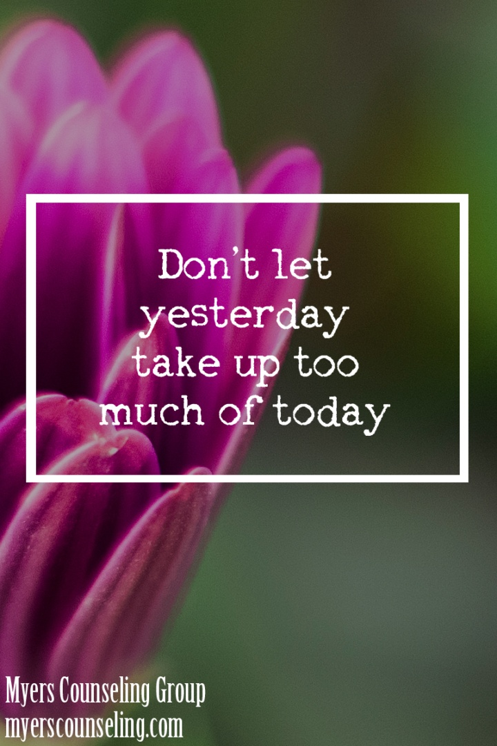 Inspirational Quote of the Day: Yesterday