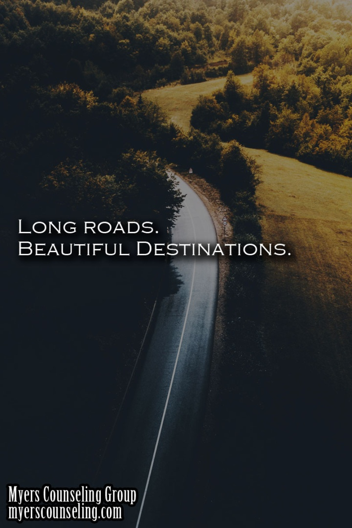 Inspirational Quote of the Day: Long Roads