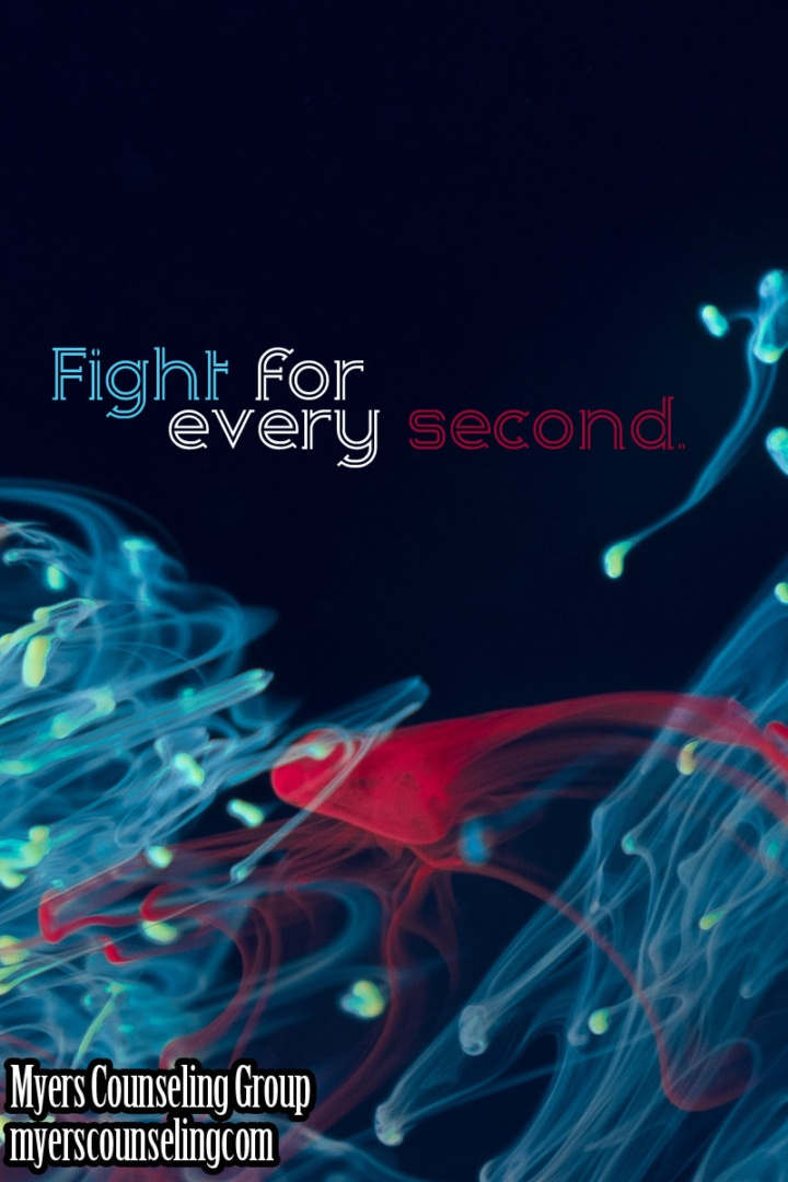 Inspirational Quote of the Day: Fight for Every Second
