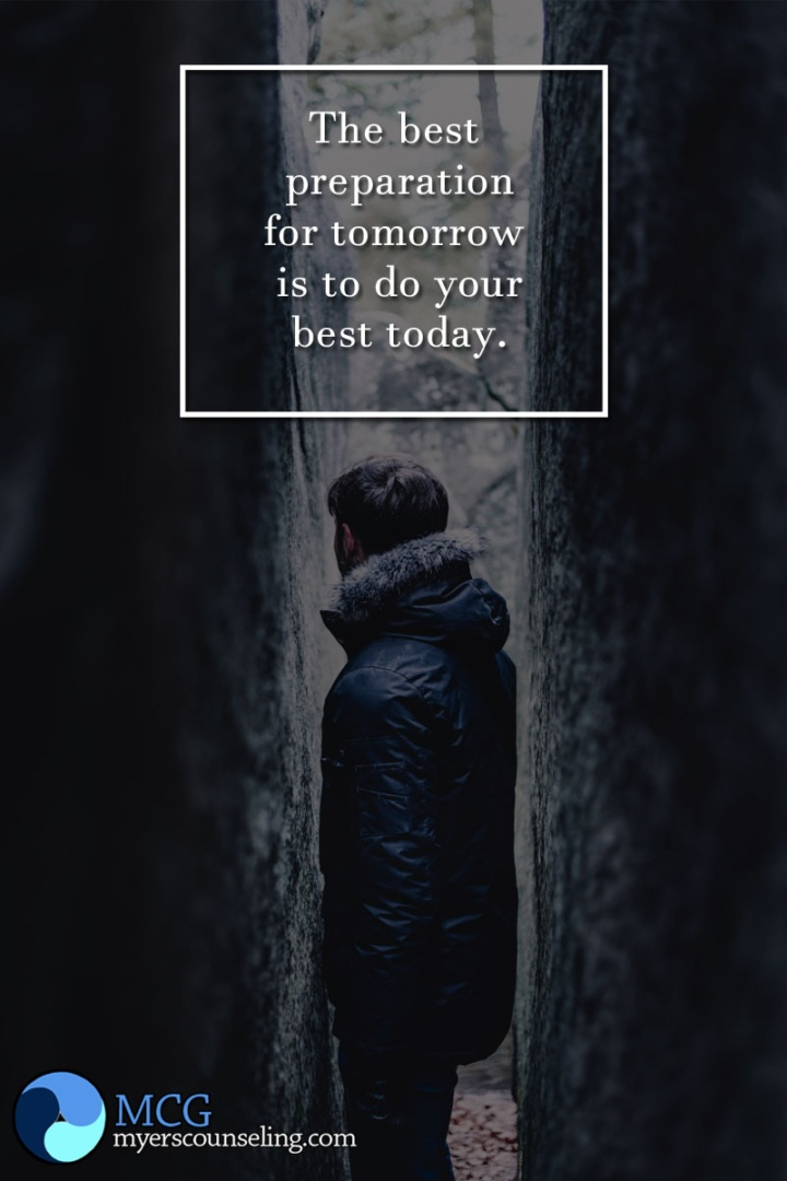 Inspirational Quote of the Day: Best for Tomorrow