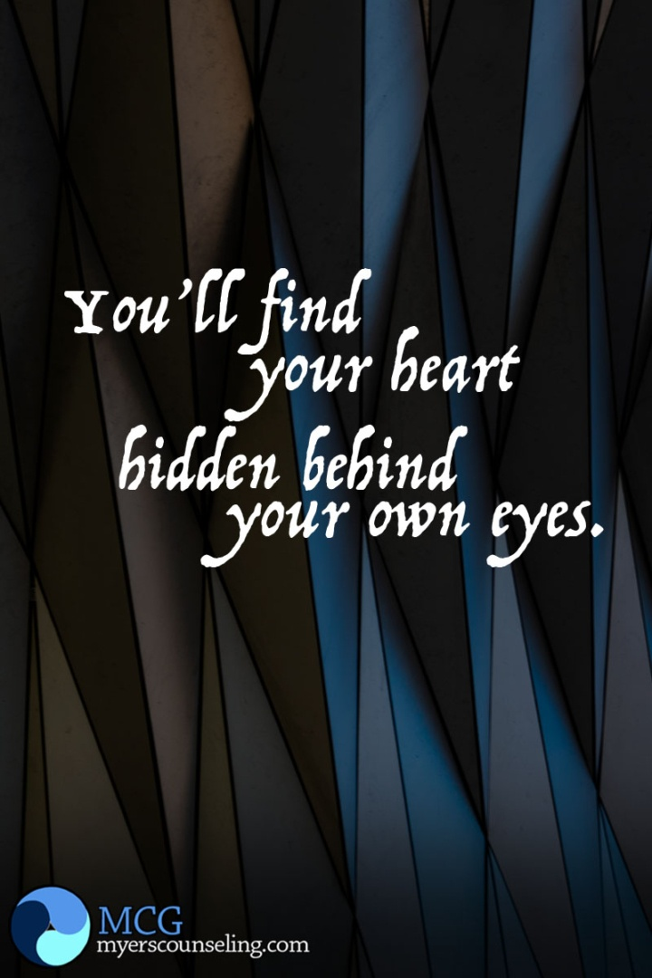 Inspirational Quote of the Day: Heart in Your Eyes