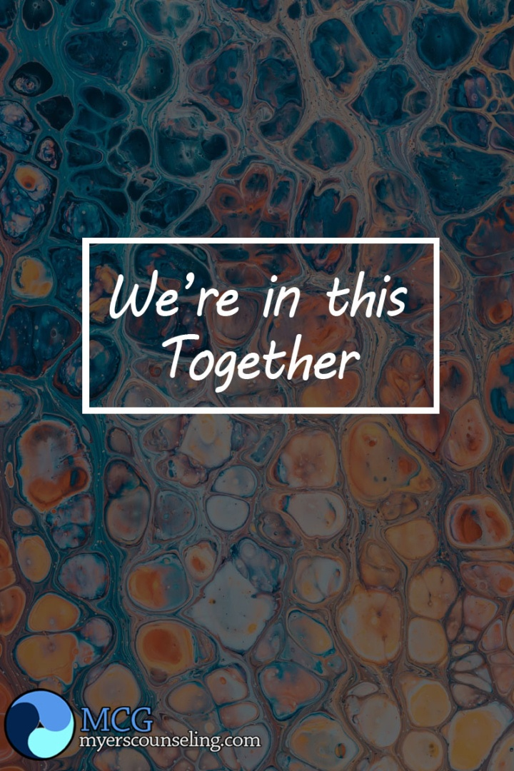 Inspirational Quote of the Day: In This Together
