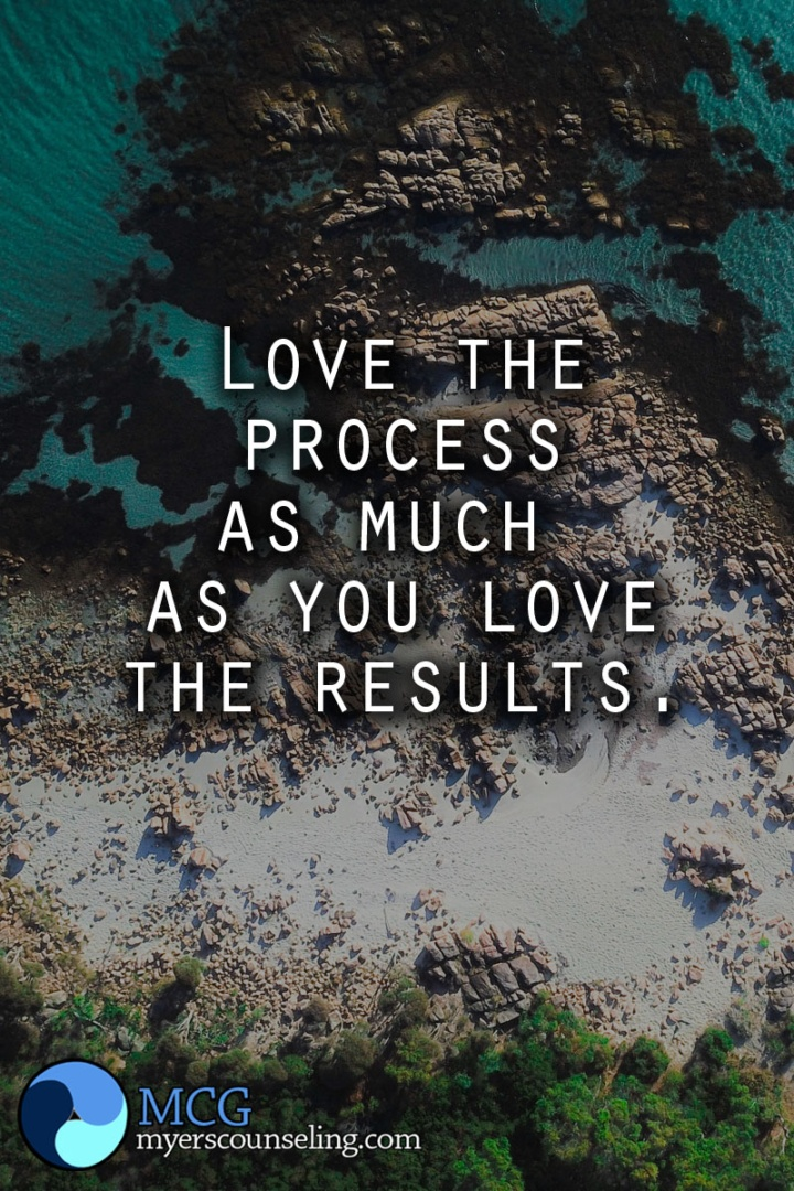 Inspirational Quote of the Day: The Process