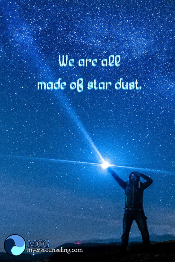 Inspirational Quote of the Day: Star Dust