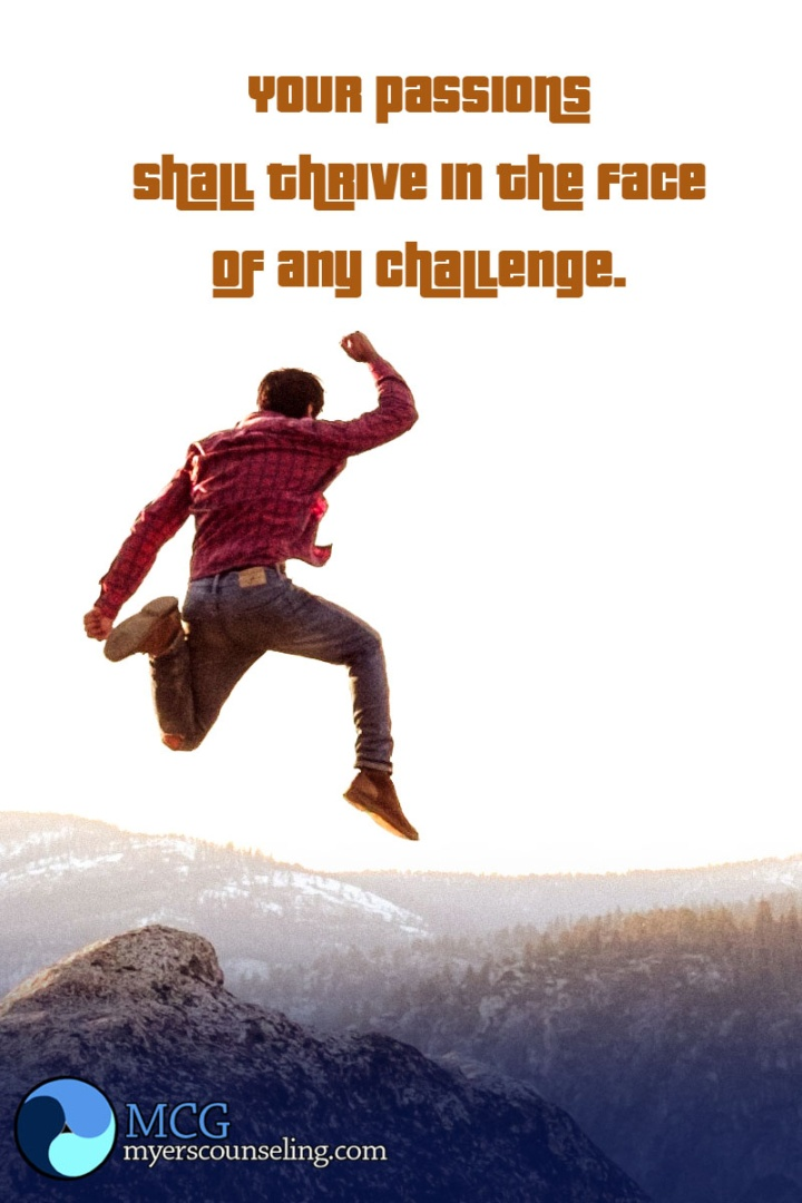 Inspirational Quote of the Day: Passion Challenges