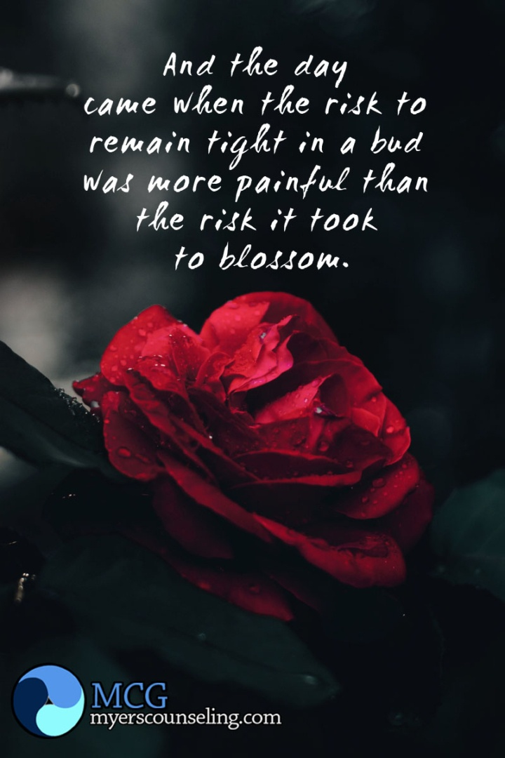 Inspirational Quote of the Day: Blossom