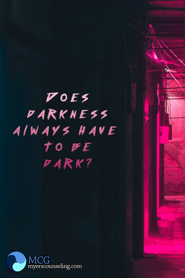 Inspirational Quote of the Day: Darkness
