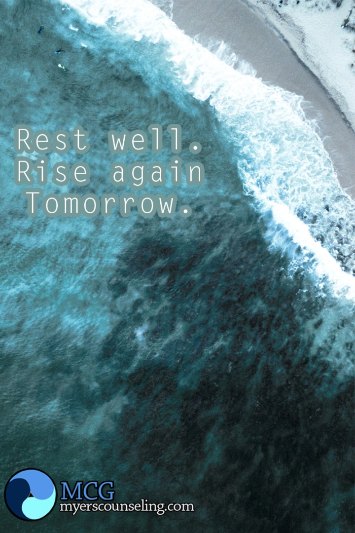 Inspirational Quote of the Day: Rest and Rise