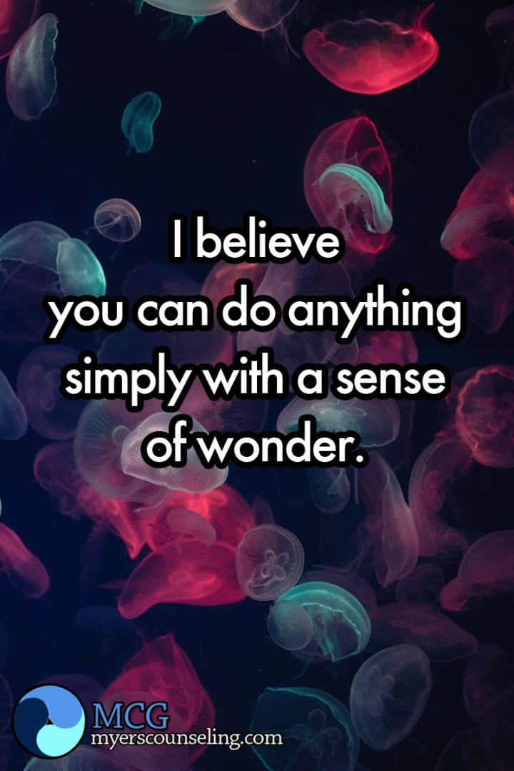 Inspirational Quote of the Day: Sense of Wonder