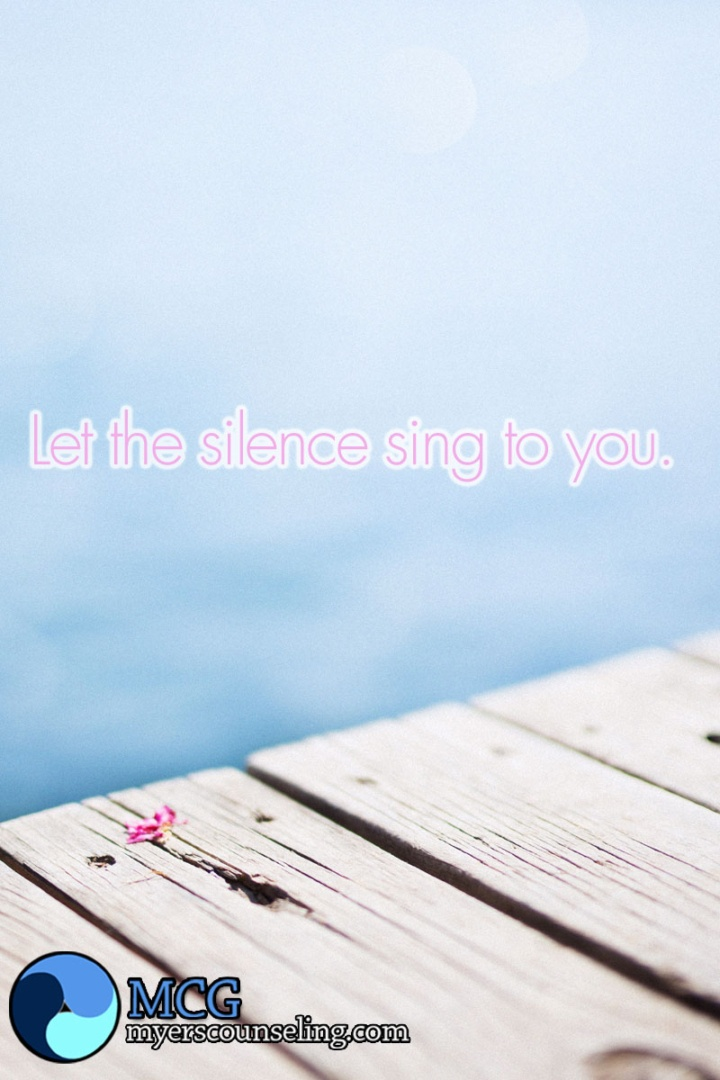 Inspirational Quote of the Day: Silence Sings