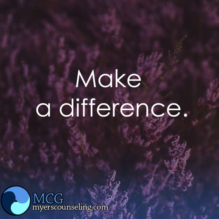 Inspirational Quote of the Day: Difference