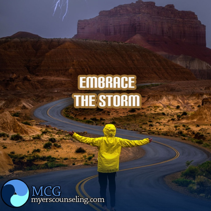 Inspirational Quote of the Day: Embrace the Storm