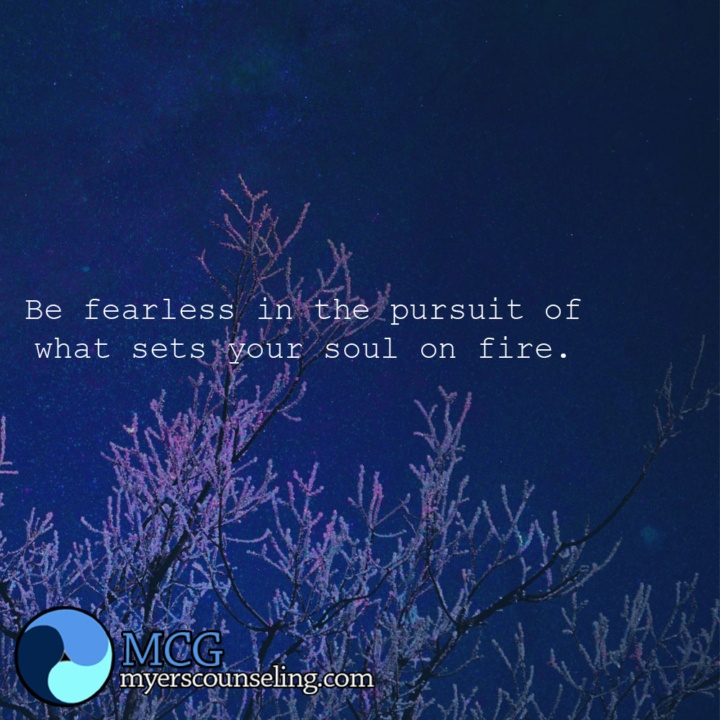 Inspirational Quote of the Day: On Fire