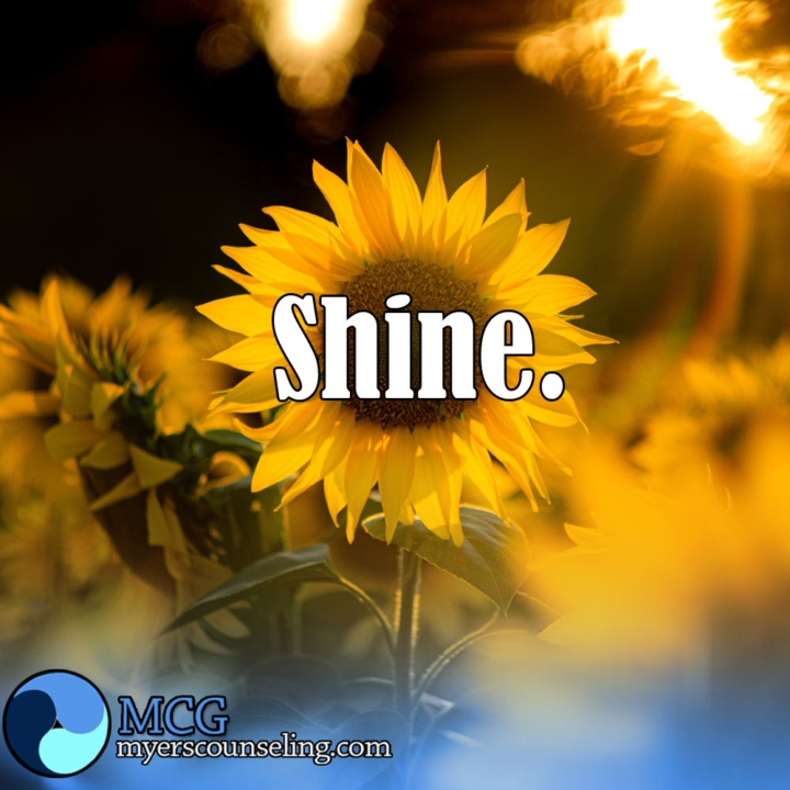 Inspirational Quote of the Day: Shine